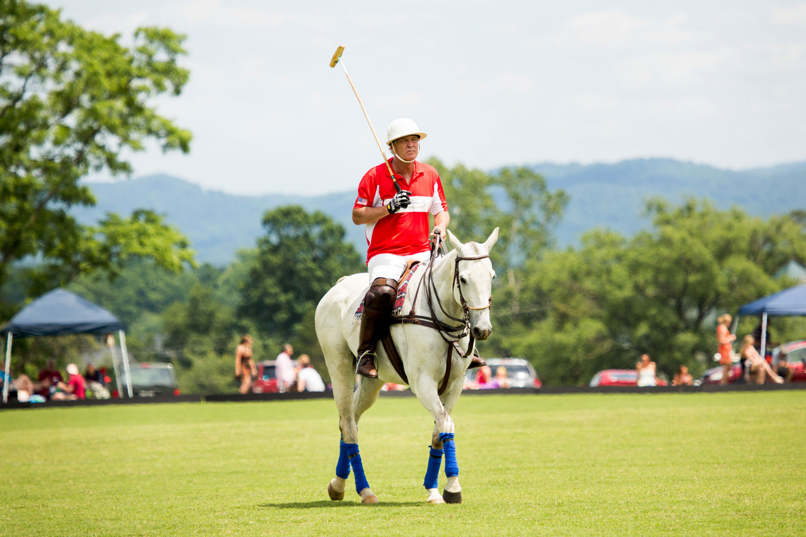 Polo at King Family Vineyards Crozet Virginia