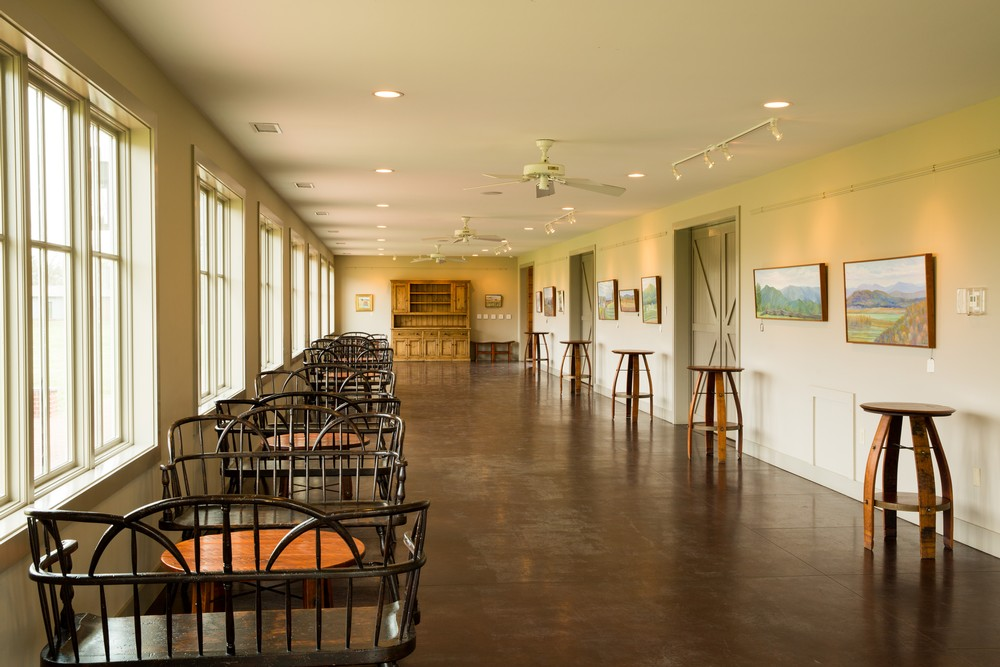 North Gallery at King Family Vineyards