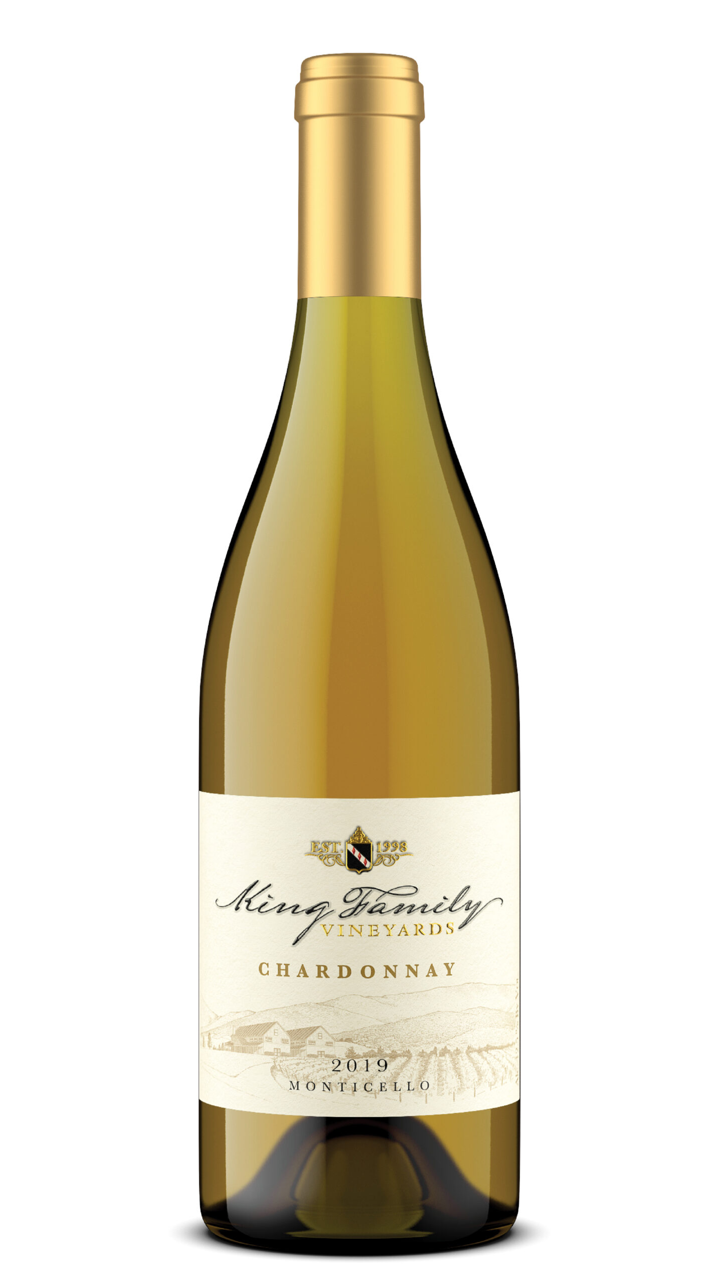 A bottle of our Chardonnay.